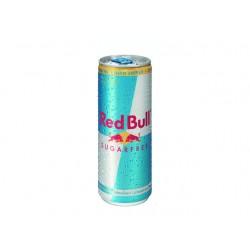 Frisdrank Red Bull sugarfree 0,25L pk/24