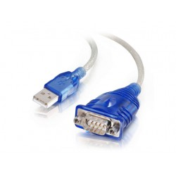 Adapter C2G Serial USB RS-232 blauw81632