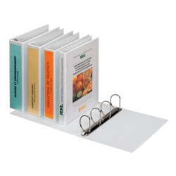 Presentatieringband A4-maxi 4R16 wit