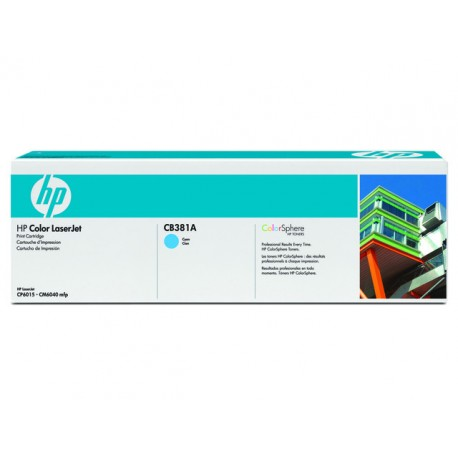 Toner HP CB381A 21K cyan
