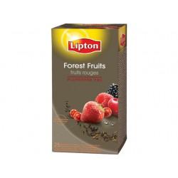 Theezakje Lipton 1,6gr bosvrucht/pak6x25