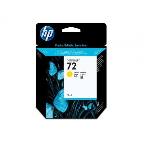 Inkjet HP C9400A 72 69ml geel