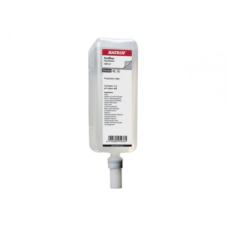 Handzeep Katrin antibacterieel 1L/ds6fl