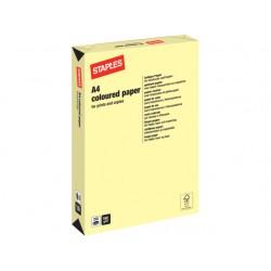 Papier SPLS A4 160g kanariegeel/pk 250v
