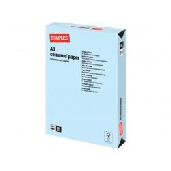 Papier SPLS A3 80g lichtblauw/pak 500v