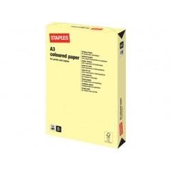 Papier SPLS A3 80g kanarie geel/pak 500v