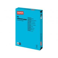 Papier SPLS A4 160g azuurblauw/pak 250v