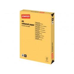 Papier SPLS A4 160g diepgeel/pak 250v