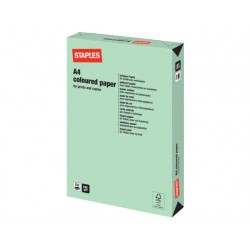 Papier SPLS A4 160g groen/pak 250v