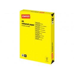 Papier SPLS A4 160g geel/pak 250v