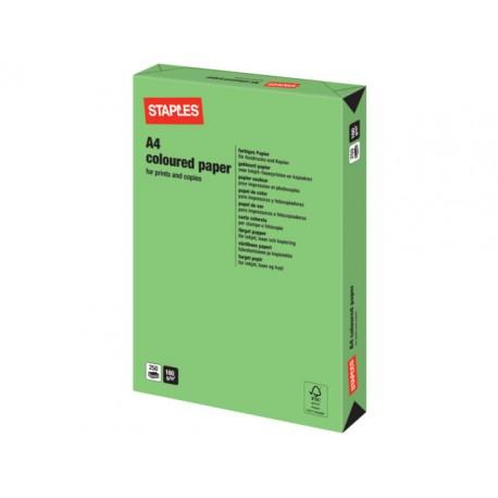 Papier SPLS A4 160g grasgroen/pak 250v
