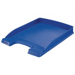 Brievenbak Leitz 5237 Plus Slim A4 blauw
