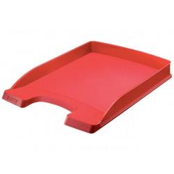 Brievenbak Leitz 5237 Plus Slim A4 rood