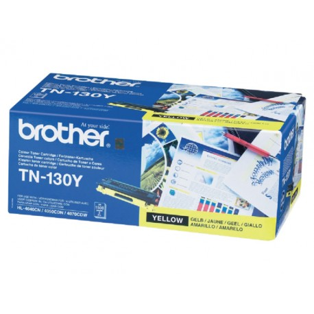 Toner Brother TN-130Y geel