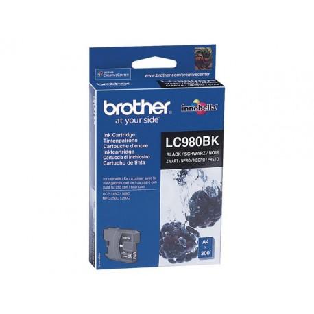 Inkjet Brother LC-980BK zwart