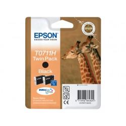 Inkjet Epson C13T07114H10 zwart/pak 2