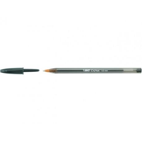 Balpen BIC Cristal Large 1,6mm zwart/d50