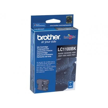 Inkjet Brother LC-1100BK zwart
