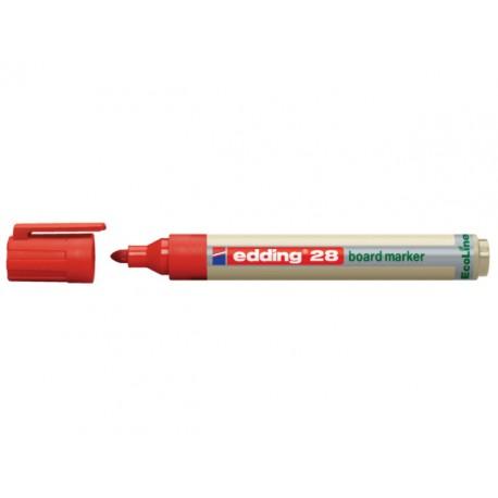 Whiteboard marker edding 28 eco rood/d10