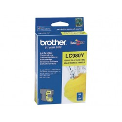 Inkjet Brother LC-980Y geel