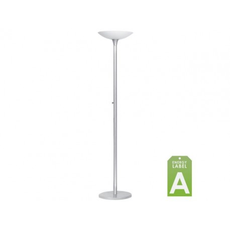 Vloerlamp Unilux Variaglass zilver