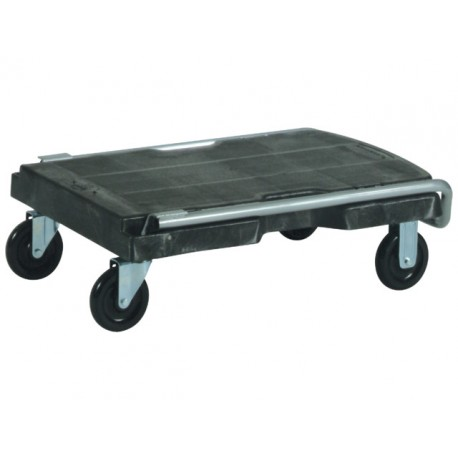 Rubbermaid Mobile trolley Triple zwart