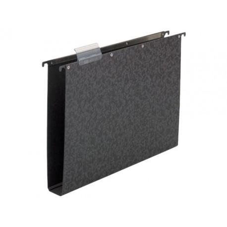 Hangmap vert. ELBA A4 40mm zwart/doos 10