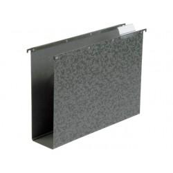 Hangmap vert. ELBA A4 80mm zwart/doos 10