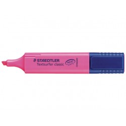 Tekstmarker Textsurfer 364 roze/doos 10