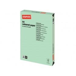 Papier SPLS A4 120g groen/pak 250v
