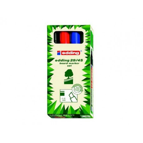 Whiteboard marker edding 29 eco ass/set4