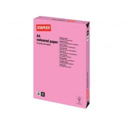 Papier SPLS A4 120g roze/pak 250v