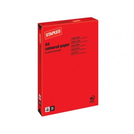 Papier SPLS A4 120g rood/pak 250v