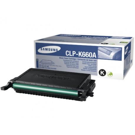 Toner Samsung CLP-K660A 2.5K zwart