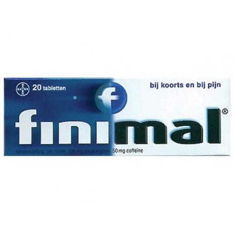 Pijnstiller Finimal tabletten/pk 20st