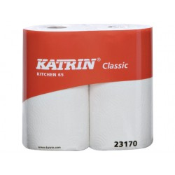 Keukenrol Katrin 2L 26x23cm wit/pk 2