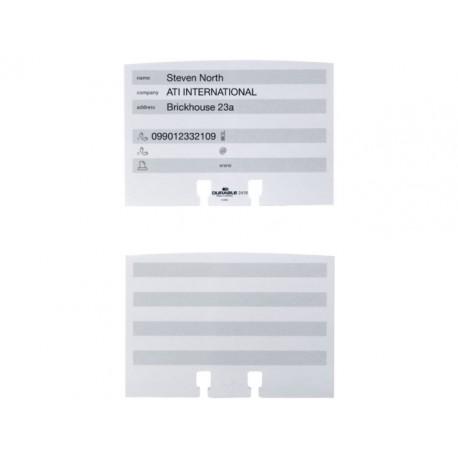 Insteekkaart Durable Telindex 2419/pk100