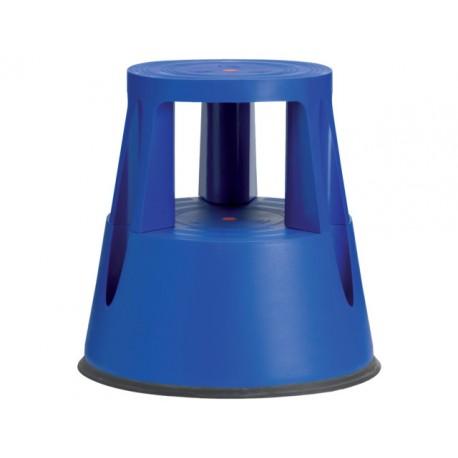 Stapvast steun kunststof 150kg blauw