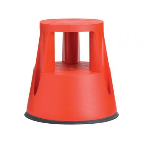 Stapvast steun kunststof 150kg rood