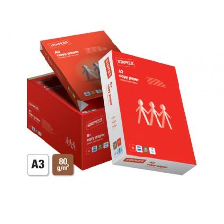 Papier SPLS A3 80g Copy/ds 5x500v