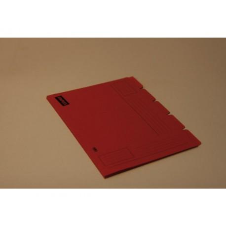 Binnenmap SPLS folio 5 tabs or/doos10x5