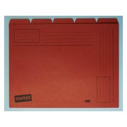 Binnenmap SPLS A4 5 tabs oranje/ds 10x5