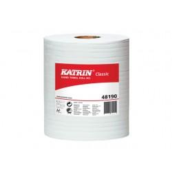 Handdoekrol Katrin M 152m 2L wit /pk6