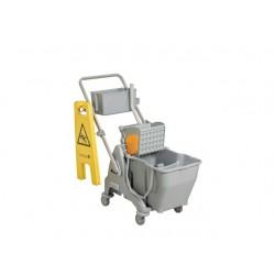 Werkwagen Taski Micro Easy grijs