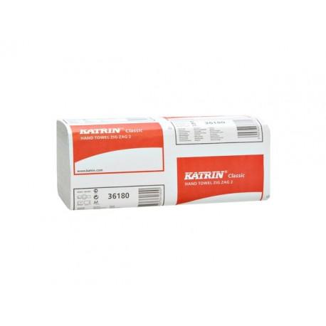 Handdoek Katrin 2L zz-vouw wit/ds20x150v