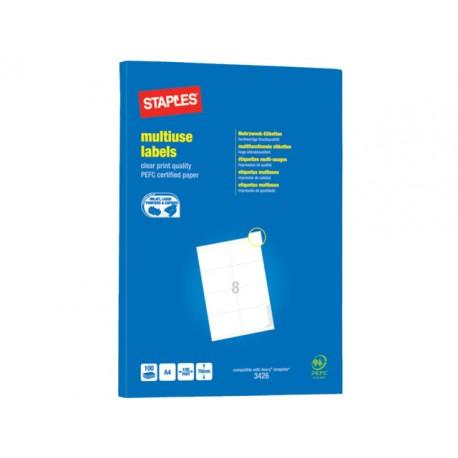 Etiket SPLS ILC 105x70 wit/pk 800