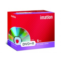DVD+R Imation Dual Layer JC/pak 5
