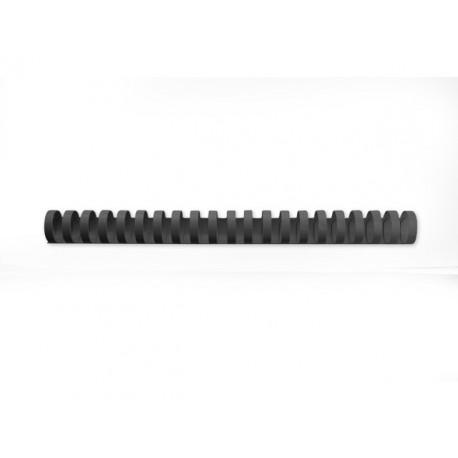 Bindrug GBC 25mm zwart/doos 50