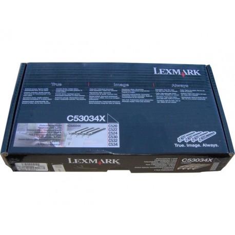 Drum Lexmark C53034X CMYK/Doos 4