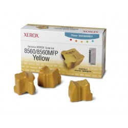 SOLID INK XEROX Y 8560 108R00725 /pk3